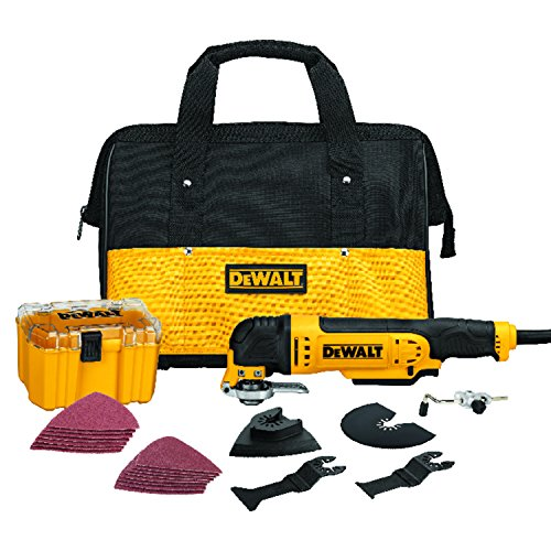 DEWALT DWE315K Multi Material Corded Oscillating Tool Kit by DEWALT