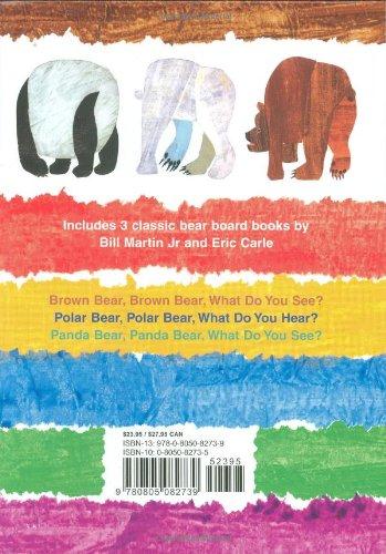 Brown Bear & Friends Board Book Gift Set: Brown Bear, Brown Bear, What Do You See?; Polar Bear, Polar Bear, What Do You Hear?; and Panda Bear, Panda Bear, What Do You See? (Brown Bear and Friends)