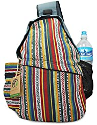 Mato Sling Bag Backpack Boho Bohemian Tribal Aztec Baja Pattern One Shoulder Daypack