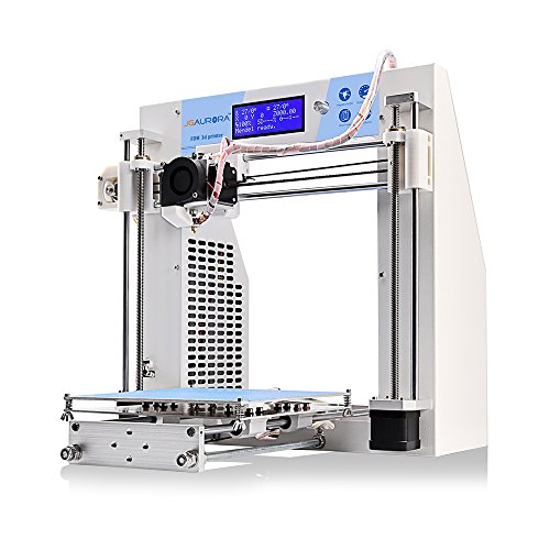 JGAURORA 3d Printer Desktop DIY 3d Printers Self Assembly Metal Frame Prusa i3 kit ABS PLA filament 1.75mm