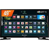 "TV LED 49"" FHD Smart, Samsung UN49J5200GXZD, Preto"