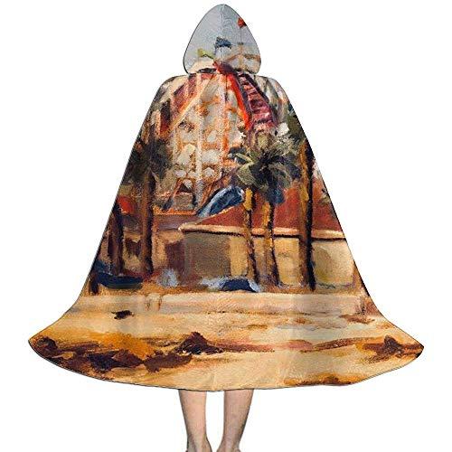 KDU Fashion Manto De Bruja,Montaña Rusa Pintura Al Óleo Niños ...