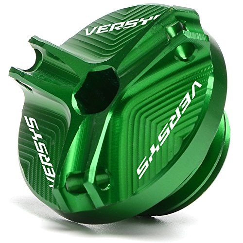 Green Motorcycle Accessories CNC Engine Magnetic Oil Drain Plug For Kawasaki VERSYS 650 2007-2017/VERSYS 1000 2013-2017