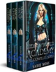 Hidden World Academy: Complete Series (Books 1-3): A Reverse Harem Paranormal Romance (English Edition)