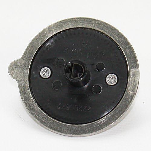 AP4980246 Gas Range Control Knob 5pc Chrome Cooktop Burner Stove GE WB03K10303