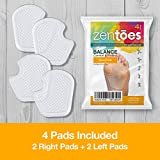ZenToes Dancer Pads 4 Count Gel Cushions Protect