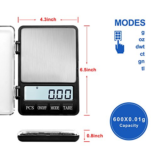 NEXT-SHINE 600g Digital Scale LCD Display with Tare Function