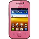 Samsung Galaxy Y GT-S5360T Pink GPS Unlocked International Version GSM Android Smartphone No Warranty