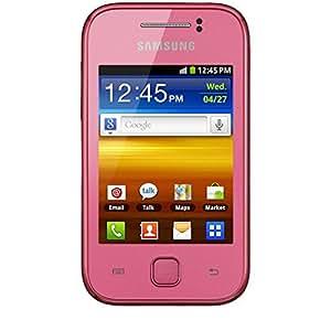 Samsung Galaxy Y - Móvil libre (pantalla táctil de 3 pulgadas, 2 GB), color rosa