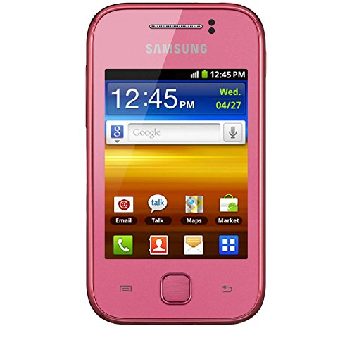 Player Samsung Band Mp3 Quad - Samsung S5360 Galaxy Y Unlocked GSM Quad-Band Smartphone with Android OS, Touchscreen and 2 MP Camera - No Warranty - Pink