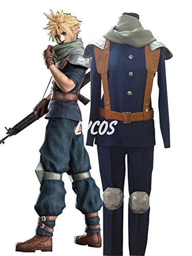 Final Fantasy VII Crisis Core Cosplay Costume
