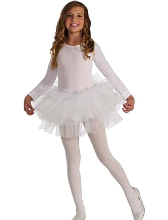 3baf15c0cfa80 Amazon.com: Child's Fluffy White Swan Lake Ballet Dancer Tutu ...