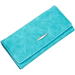 JD Million shop New Multifunction Women Bag Solid Hasp PU Leather Plaid Long Wallet Card Purse Monedero 11S60930 drop shipping