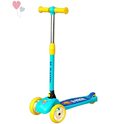 Amazon.com: Hengnuo Niños Patinete - Steer Intermitente ...