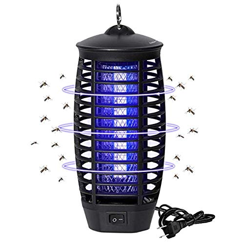 Wanqueen Electric Mosquito Trap, Bug Zapper, Light-Emitting Mosquito Killer with Hook, Flying Insect Trap for Indoor by Wanqueen