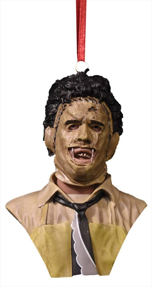 Trick Or Treat Studios Texas Chainsaw Massacre Leatherface Holiday Horrors Ornament