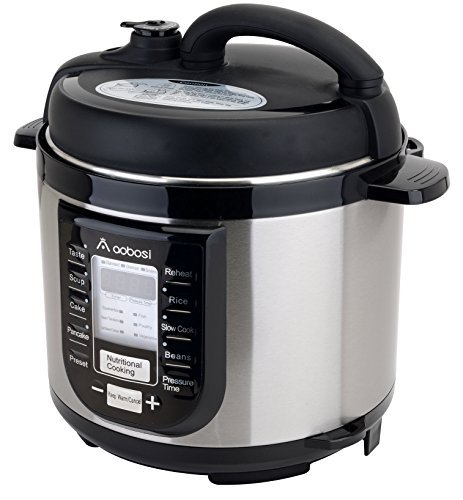 Aobosi YBW40-80B1 Programmable Pressure Cooker 4Qt/800W Stainless Steel Cooking Pot Digital Cooker (Pressure Cooker Cooking Pot compare prices)