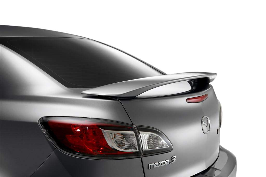 Factory Style Spoiler made for the Mazda 3 Painted in the Factory Paint Code of Your Choice 312 38P