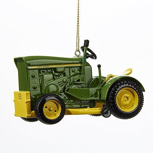 Kurt Adler John Deere 1963 Model 110 Tractor Christmas Ornament (Deere John Tree Christmas)