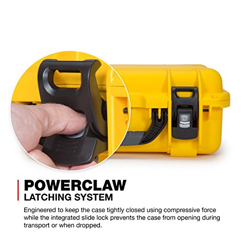 Nanuk 920 Waterproof Hard Case with Padded Dividers - Yellow