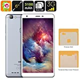 Generic Uhans S3 Android Smartphone - Quad-Core CPU, Dual-IMEI, 6-Inch HD Display, Android 6. 0, 3G, Bluetooth, Google Play, 3100mAh