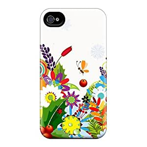 ConnieJCole VNwXYtJ8478VezEE Case Cover Skin For Iphone 4/4s (spring Summer Fall Winter)
