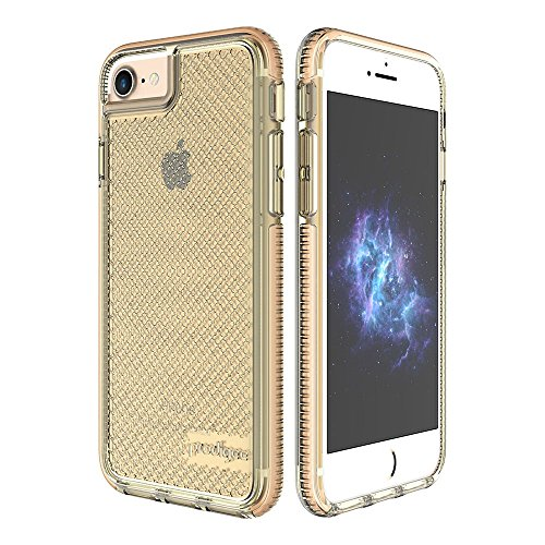 Prodigee iPH7-SAFE-GLD - Caja Protectora para Apple iPhone 6 / 7 / 8, color gold