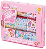Tobar 1000 Stickers For Girls