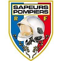 Men Fire Autocollant Sapeurs Pompiers Pare Brise - Blason