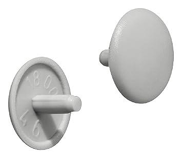 Bevorzugt Gedotec Schrauben-Kappen rund Verschluss-Stopfen Kunststoff Möbel QJ82