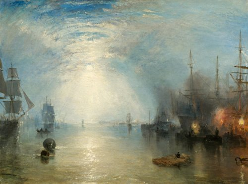 Moonlight Bay Poster (J.M.W. Turner :
