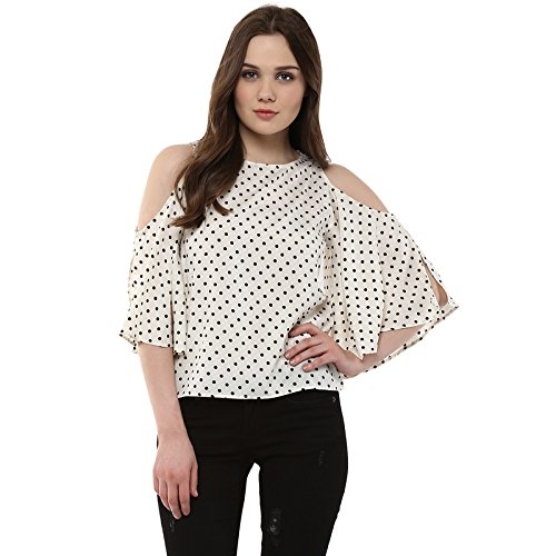 Harpa Cream Women's Top (GR3747-CREAM)
