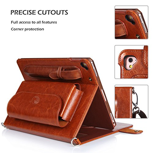 sports shoes e8466 c5d38 FYY iPad Pro 9.7 Case - Luxurious Genuine Leather Case - Import It All