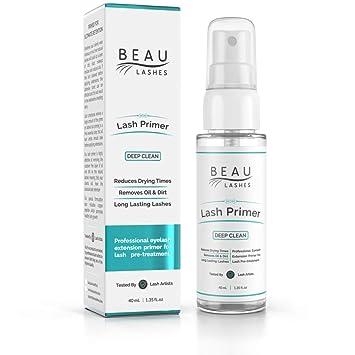 bc3cec796c0 Lash Primer For Eyelash Extensions (40ml) - To Cleanse Lashes, Promote  Healthy Lash