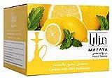 vape pen 35 - Mazaya Shisha Molasses Premium Flavors 1kg/1000g For Hookah NonTobacco (Lemon Mint)