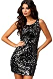 made2envy Sparkling Sequin Sexy Mini Club Dress