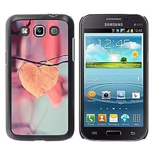 Paccase / SLIM PC / Aliminium Casa Carcasa Funda Case Cover para - Autumn Orange Leaf Branch Pink Seasons - Samsung Galaxy Win I8550 I8552 Grand Quattro