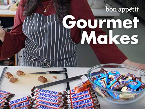 - Pastry Chef Attempts to Make Gourmet Snickers