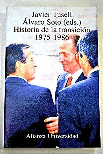 Historia de la transicion 1975-1986 Alianza Universidad: Amazon.es ...