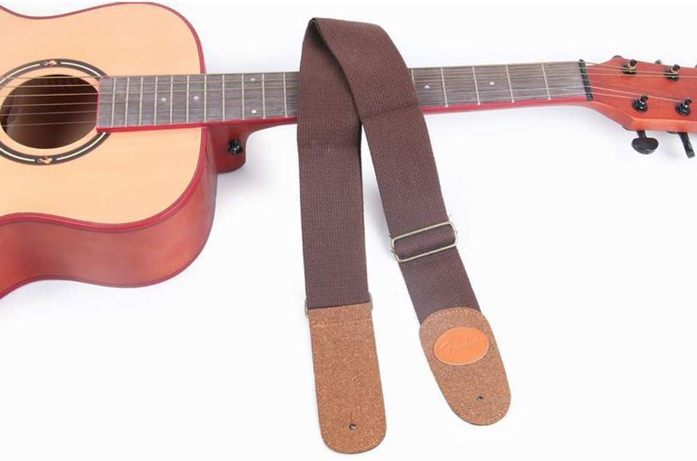 Correa para guitarra acústica de algodón suave con extremos de ...