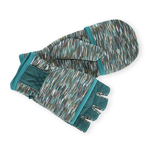 PISTIL Designs Women's Peekaboo Mittens, Teal, One Size