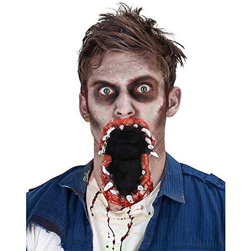 Fancy Face Paint Color Halloween Big Mouth -