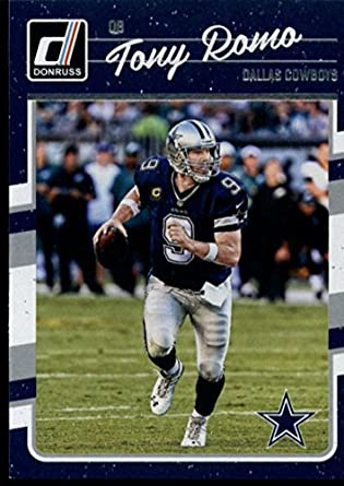 Amazon.com  Football NFL 2016 Donruss  76 Tony Romo NM-MT Cowboys ... f82ecdadb