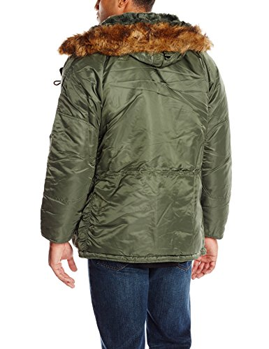 Alpha Coat N Men's Parka Sage Gray Industries 3B rwXqEarf