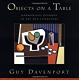Objects on a Table, Guy Davenport, 1582430357