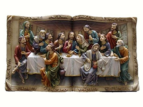 Christian Figurine - Last Supper Wall Plaque