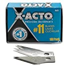 X-Acto No. 11 Stainless Steel Classic Blades (Bulk Pack of 100) 1 pcs sku# 1832783MA