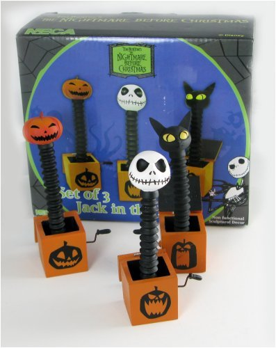 Neca Nightmare Before Christmas Jack in the Box Set non functional ()