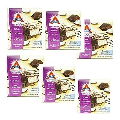 Atkins Endulge Chocolate Coconut Bar - 1.4 Oz, 6 packs