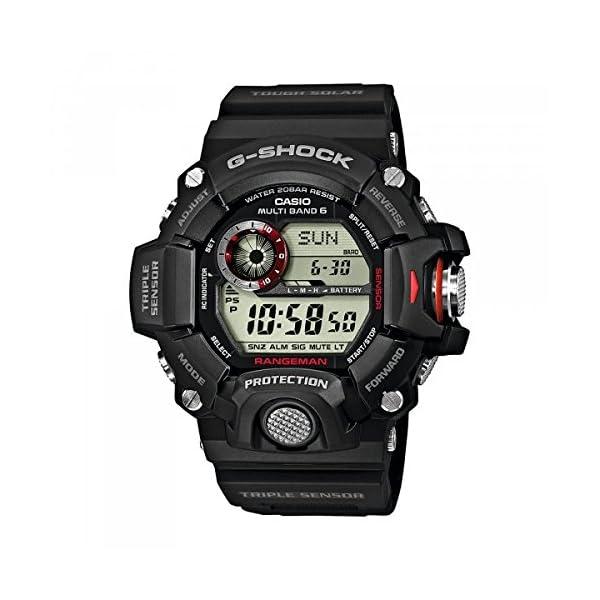 CASIO Reloj Hombre de Digital con Correa en Resina GW-9400-1ER 3